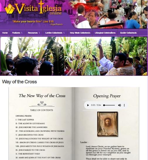 visita iglesia online 2019