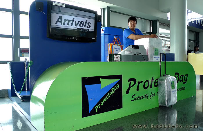 protectabag in NAIA