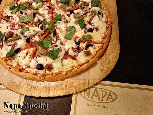 Team treat at Napa Restaurant