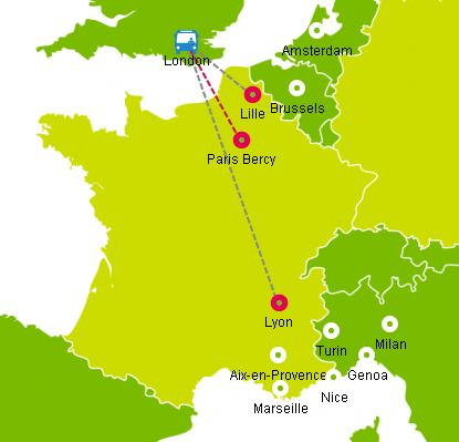 What to Do on a Bus from London to Paris