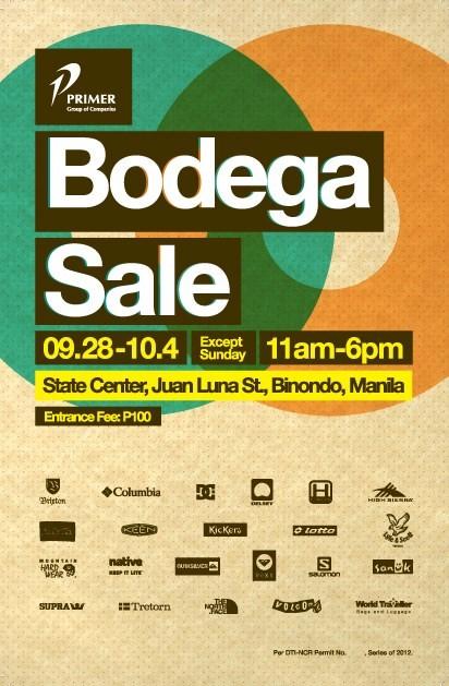 Primer Bodega Sale 2013