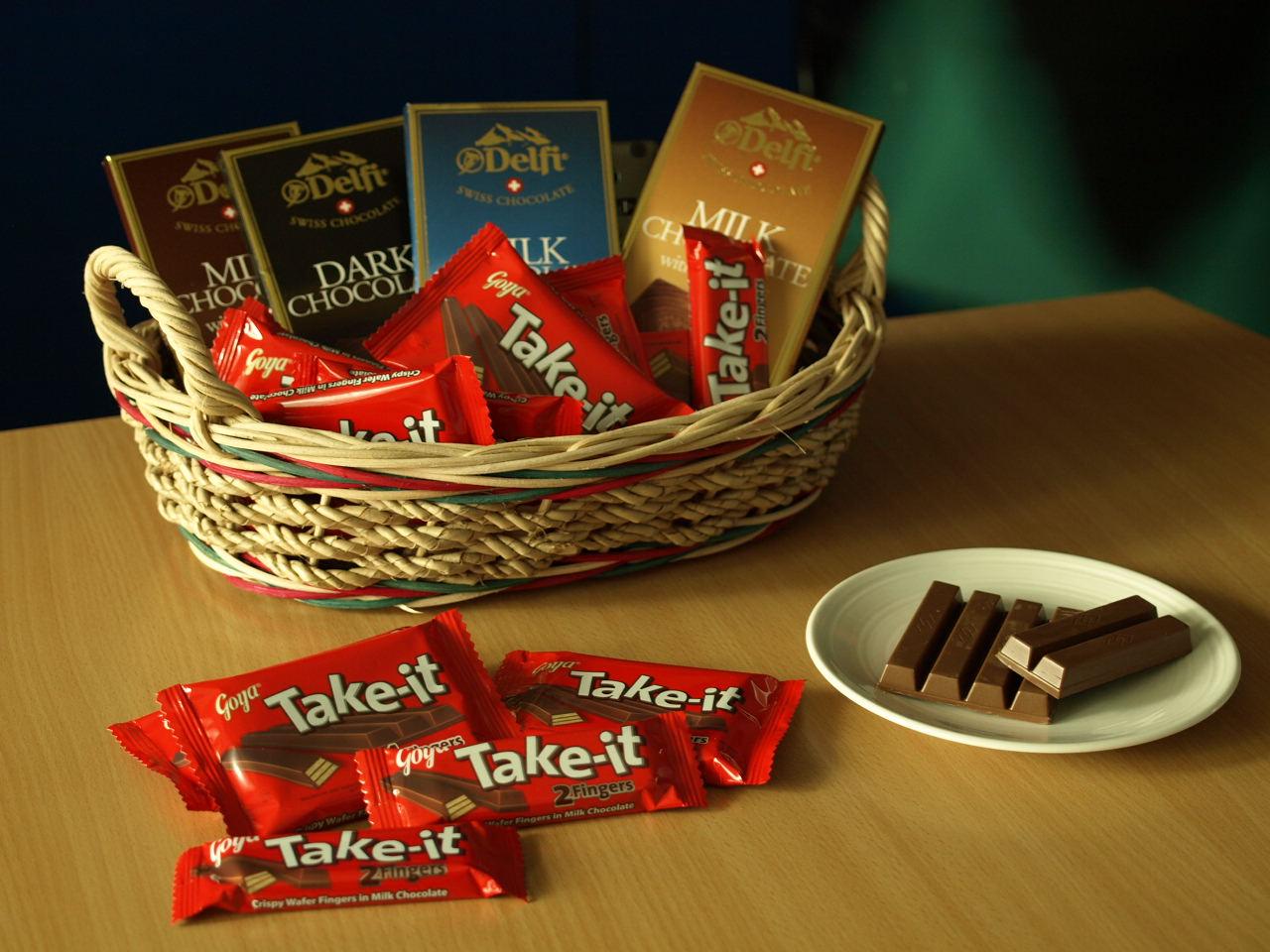Choco find: Goya Take It