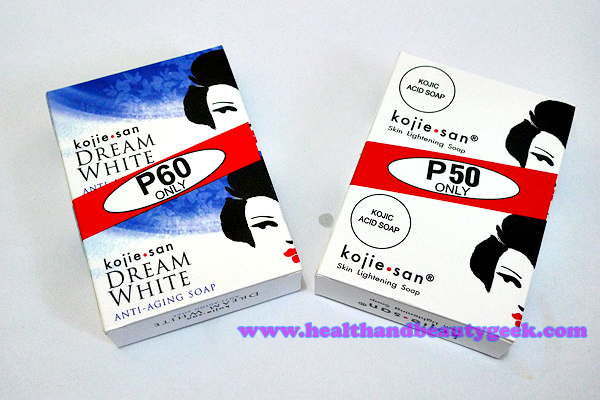 Kojie San Kojic Acid and Dream White soaps – a review