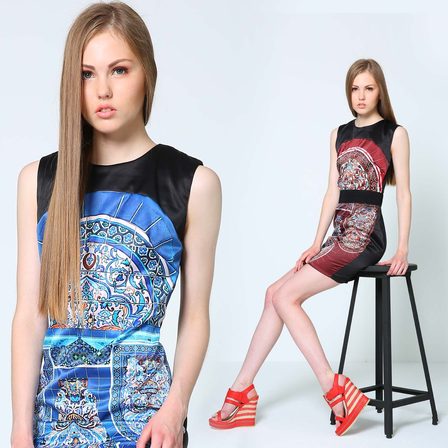 Freeway Holiday 2013 Lookbook: Moroccan Patterns and Macro Florals