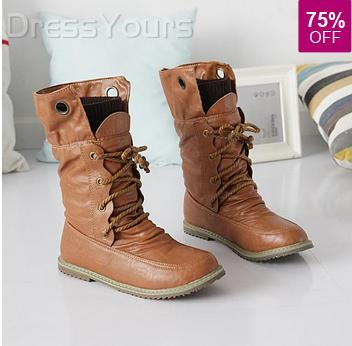 Boots season is here + Win $30 Voucher from DressYours.com