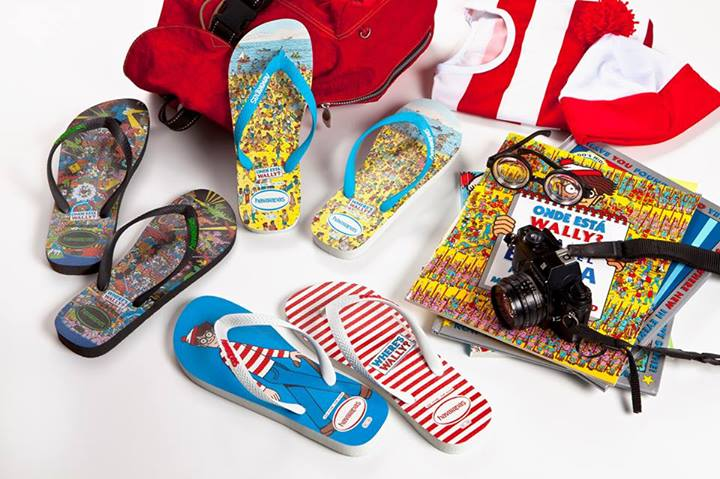Havaianas Where's Wally Limited Edition flip-flops