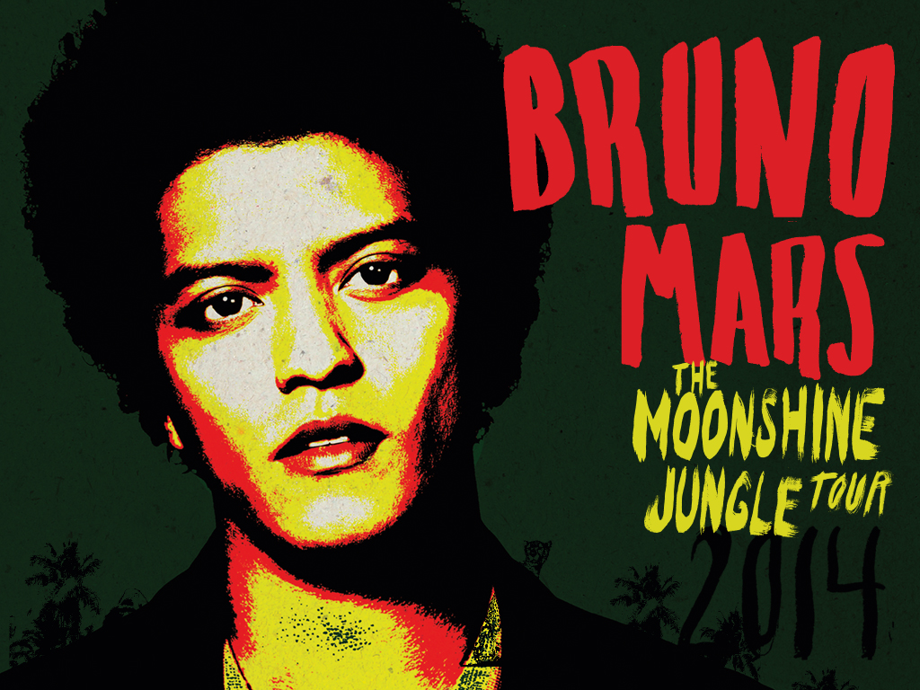 Win tickets to Bruno Mars The Moonshine Jungle Tour 2014  from Max's Restaurant