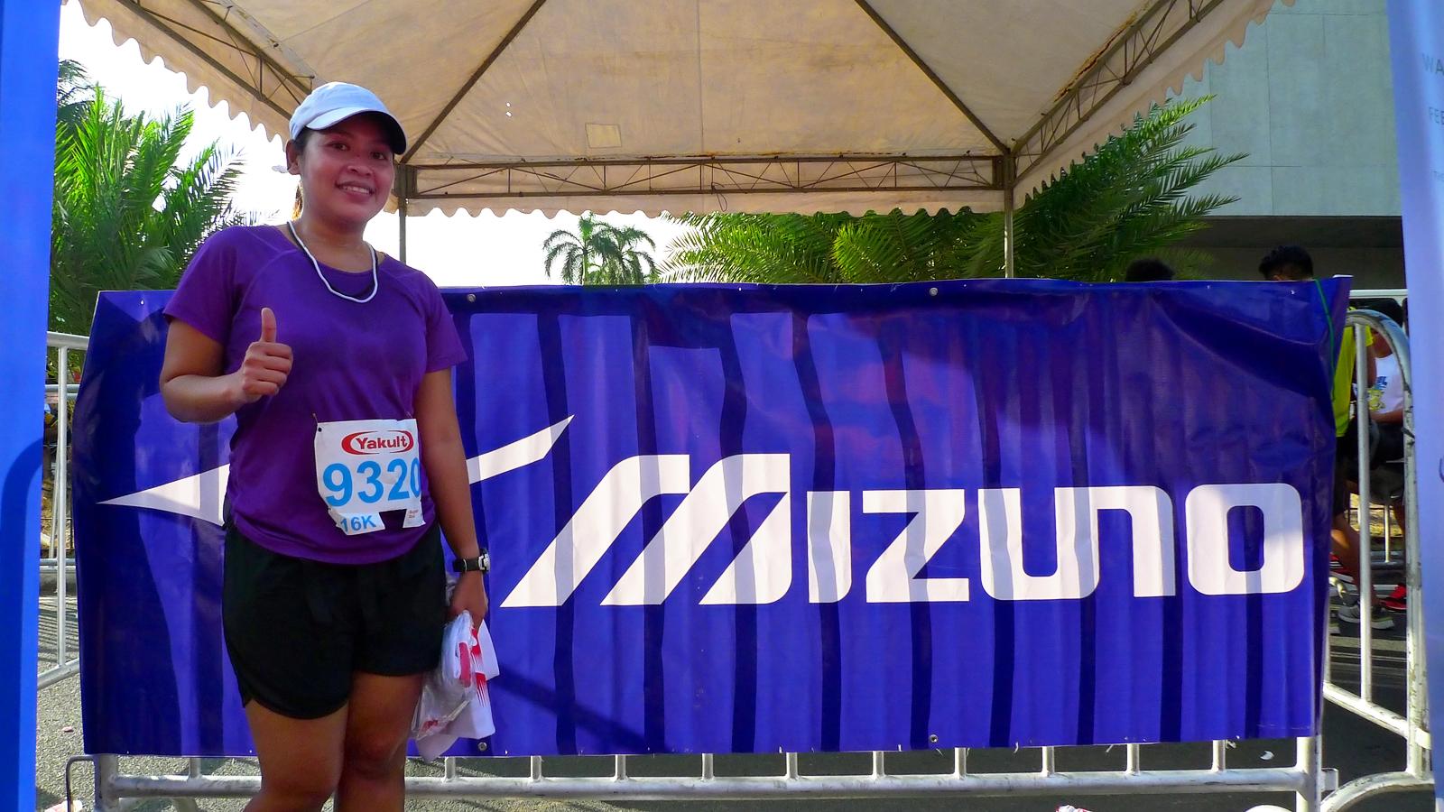 My 2nd 10-miler at the Yakult 25th Run