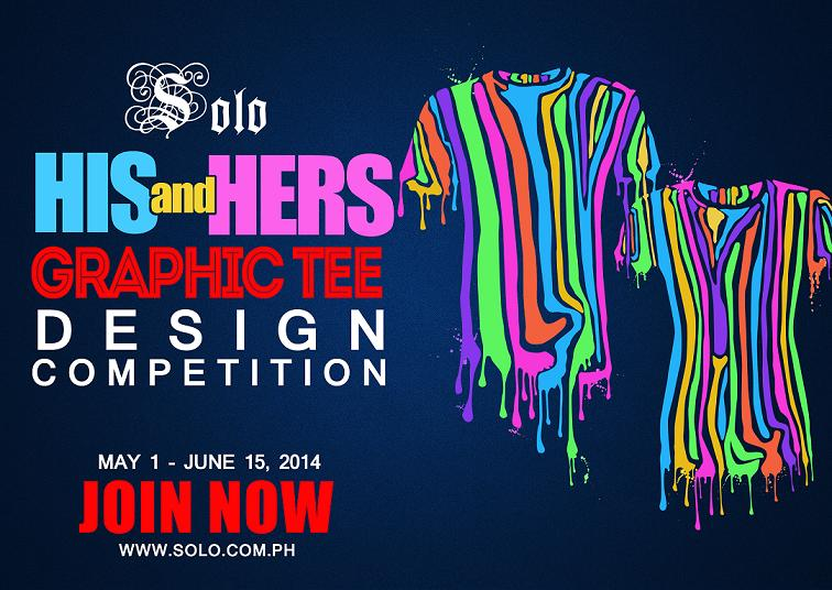 Solo His & Hers Graphic Tee Design Contest 2014