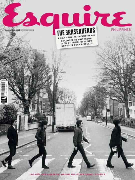 Esquire Philippines features the Eraserheads