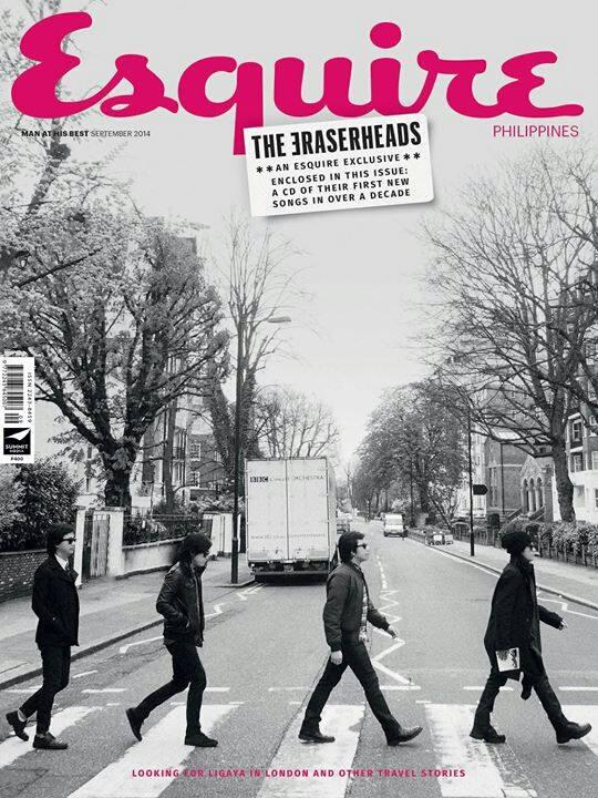 Esquire Philippines features the Eraserheads