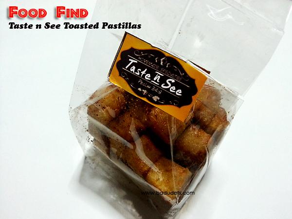 Food Finds: Taste n See Toasted Pastillas and Rodillas Yema Cake