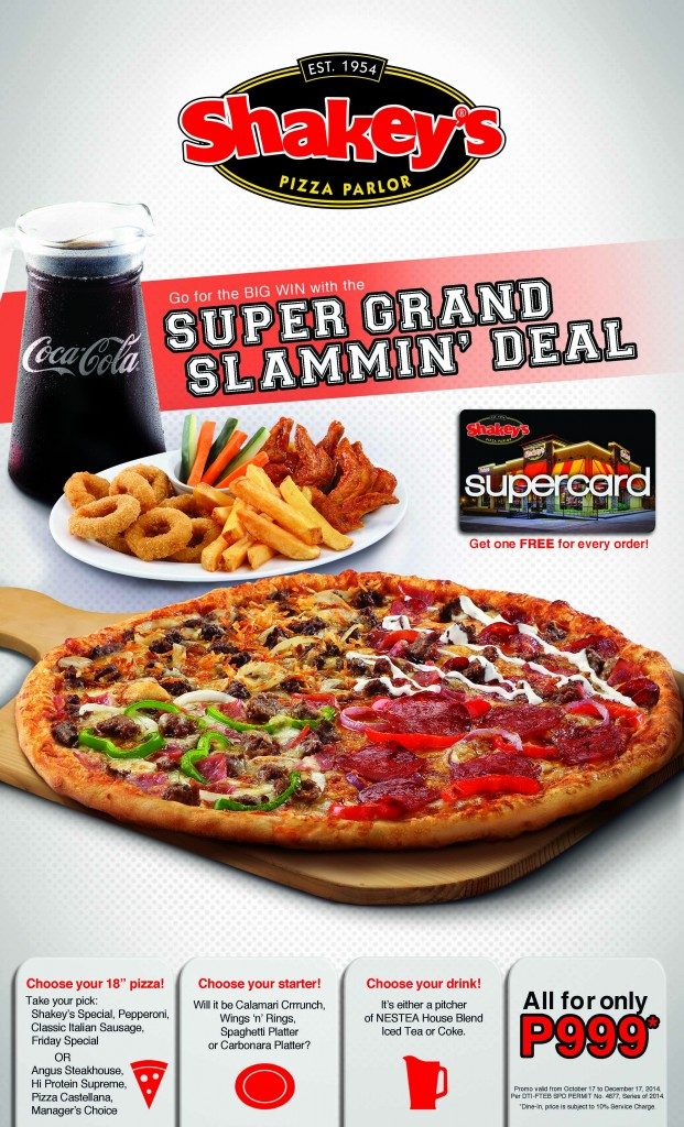 Shakey's Super Grand Slammin' Deal