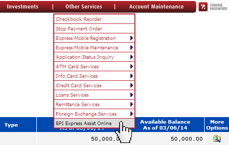 No more falling in line with BPI Express Assist Online