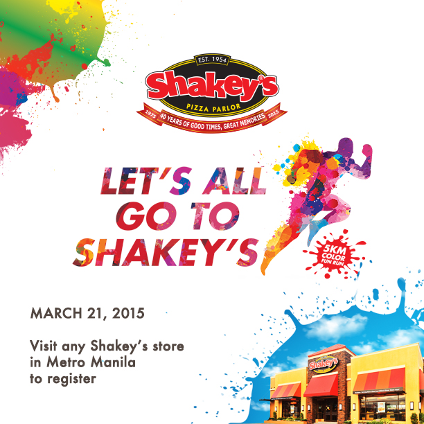 Let's All Go To Shakey's Fun Run
