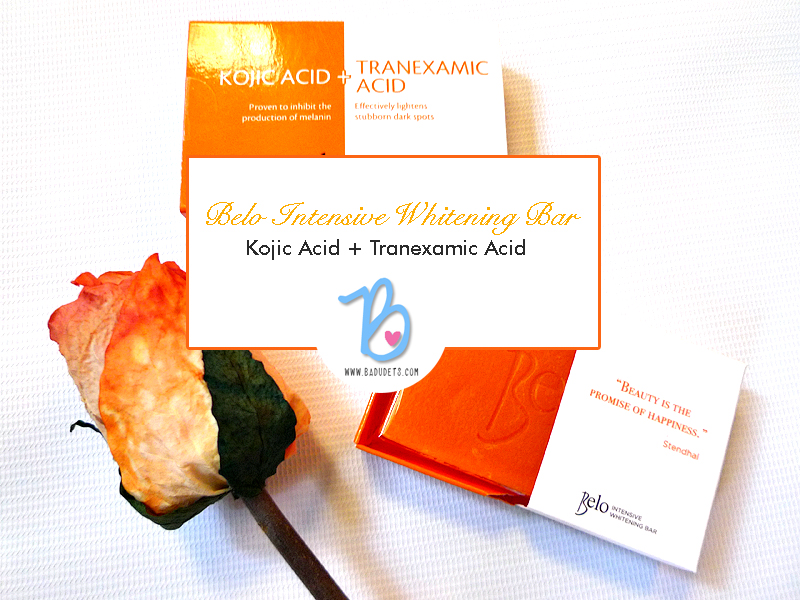 Belo Kojic Acid + Tranexamic Acid soap review