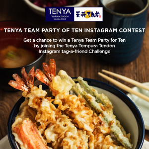 tenya team party of ten instagram contest