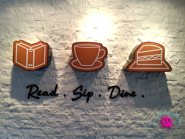 Read, sip and dine at Book and Borders Cafe