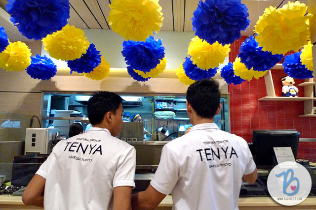Tenya Philippines opens 3rd branch at Market! Market!