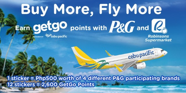 Buy More, Fly More: Shop and earn GetGo points