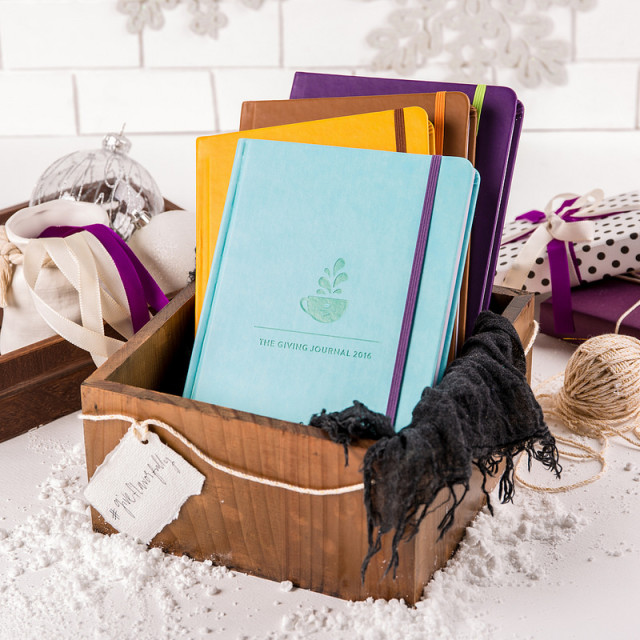 Give Flavorfully with Coffee Bean and Tea Leaf's The Giving Journal 2016
