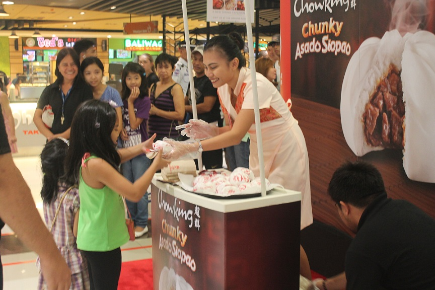 chowking siopao sampling