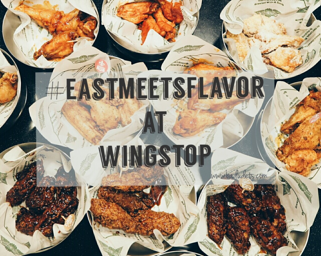 wingstop east meets flavor
