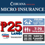 Alagang Cebuana Plus: 25 pesos for your peace of mind
