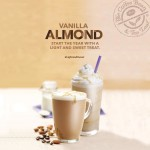 Make your days #lightandsweet with CBTL's Vanilla Almond