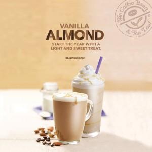 coffee bean and tea leaf vanilla almond