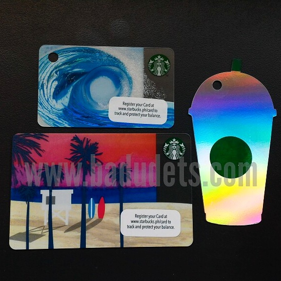 starbucks cards summer 2016