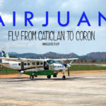 Air Juan: Fly from Boracay to Coron, Palawan