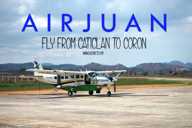 air juan flght from caticlan to coron palawan