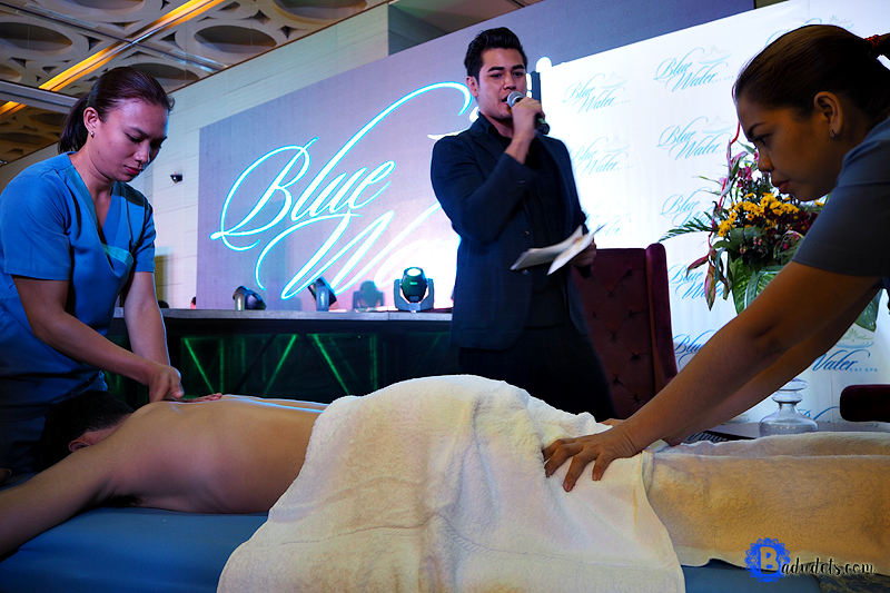 blue water day spa balinese massage