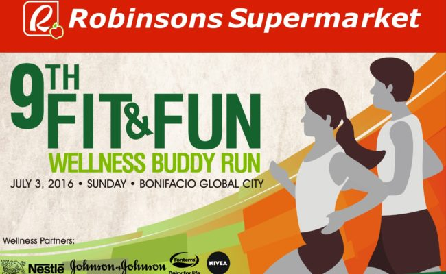 Robinsons Supermarket's 9th Fit & Fun Wellness Buddy Run 2016