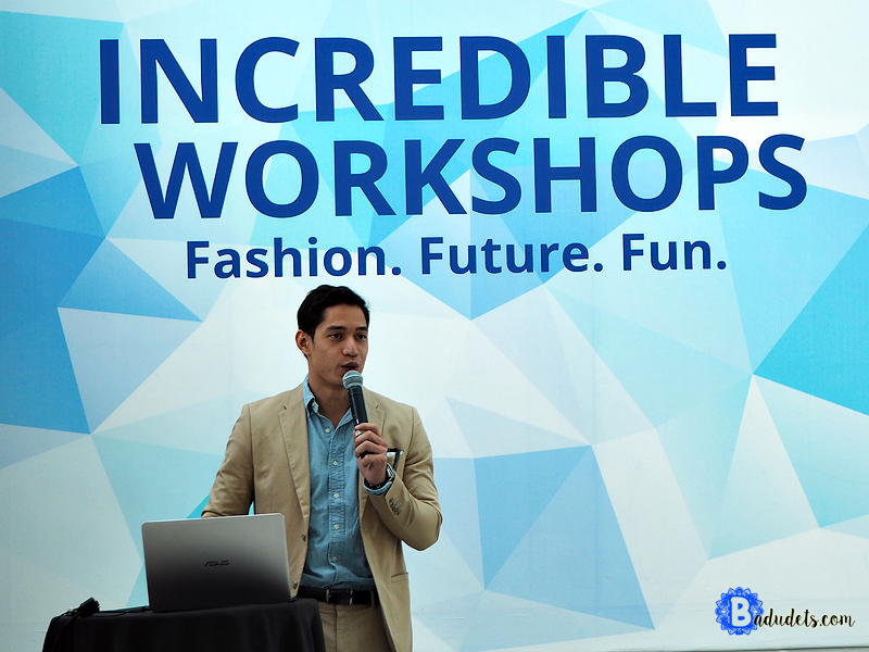 asus incredible workshops victor basa