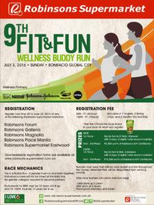 9th fit and fun wellness buddy run 2016