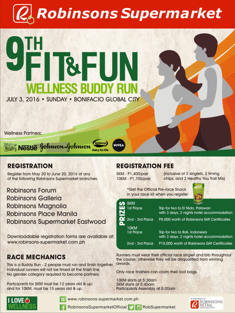 9th fit and fun wellness buddy run 2016