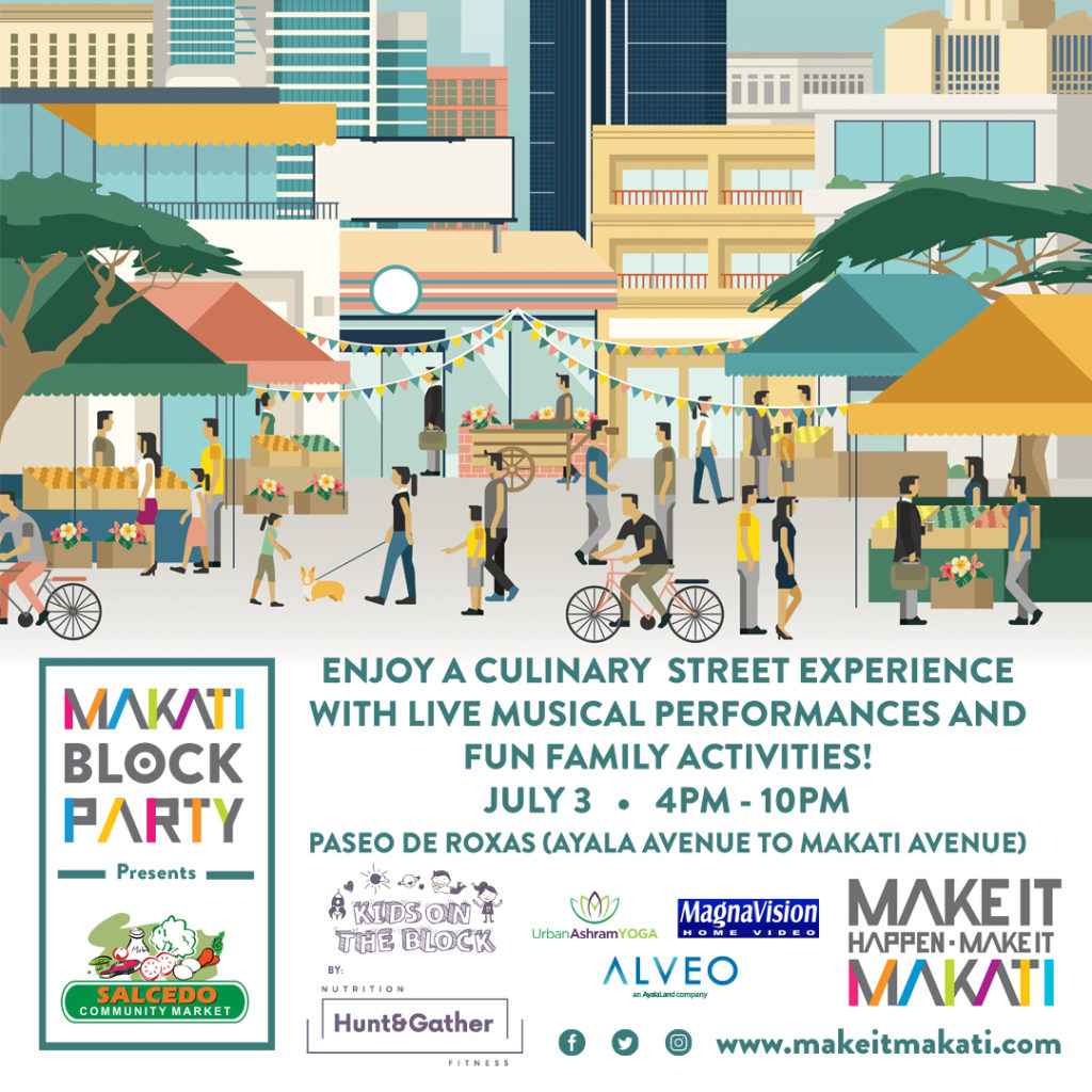 makati block party july 3, 2016