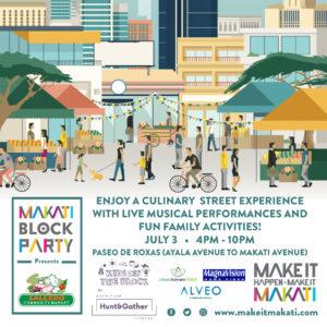 makati block party july 3, 2016