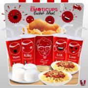 #TasteTheFeeling with Coca-Cola and KFC Emoticups