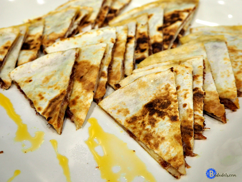 quesadilla with purefoods corned beef