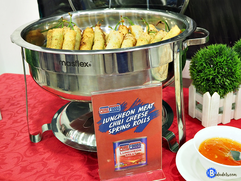 purefoods chili cheese spring rolls