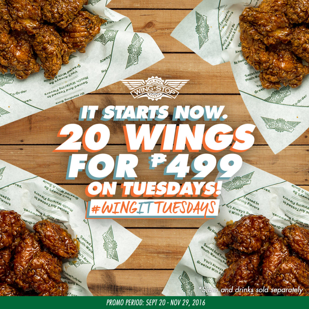 wingstop wingittuesdays