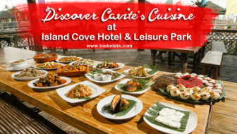 Discover Cavite's Cuisine at Island Cove Hotel and Leisure Park