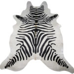 Zebra Print Cowhide Rugs – Add Some Exotic Style & Luxury To Your Home