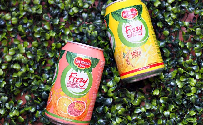 A Healthier Fizz from Del Monte Fizzy Juice Drink