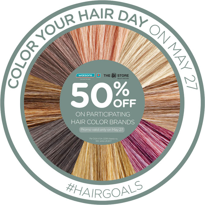 Color Your Hair Day on May 27