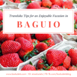 Traveloka Tips for an Enjoyable Baguio Vacation