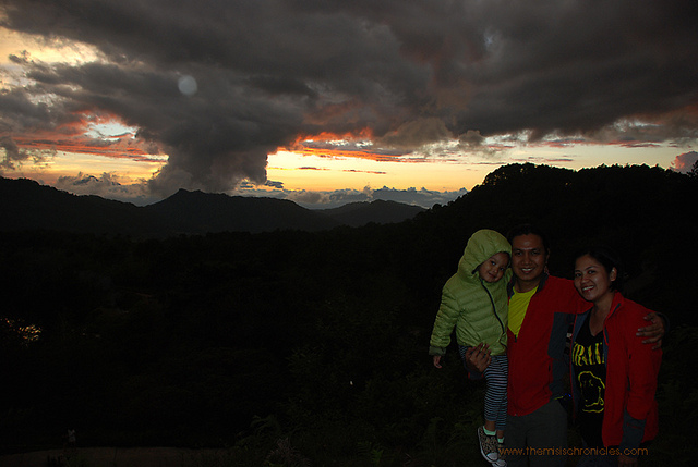 lake danum sunset sagada